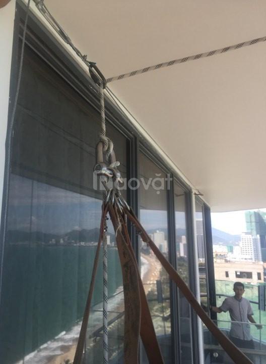 Dây đu sơn nước, dây đu sơn bả, dây đu sơn tường, thang dây đu sơn