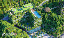Chỉ từ 900 triệu sở hữu ngay biệt thự xanh trên cao Flamingo Cát Bà