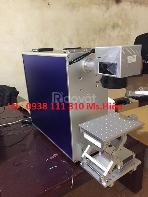 Máy laser fiber mini, máy laser khắc kim loại