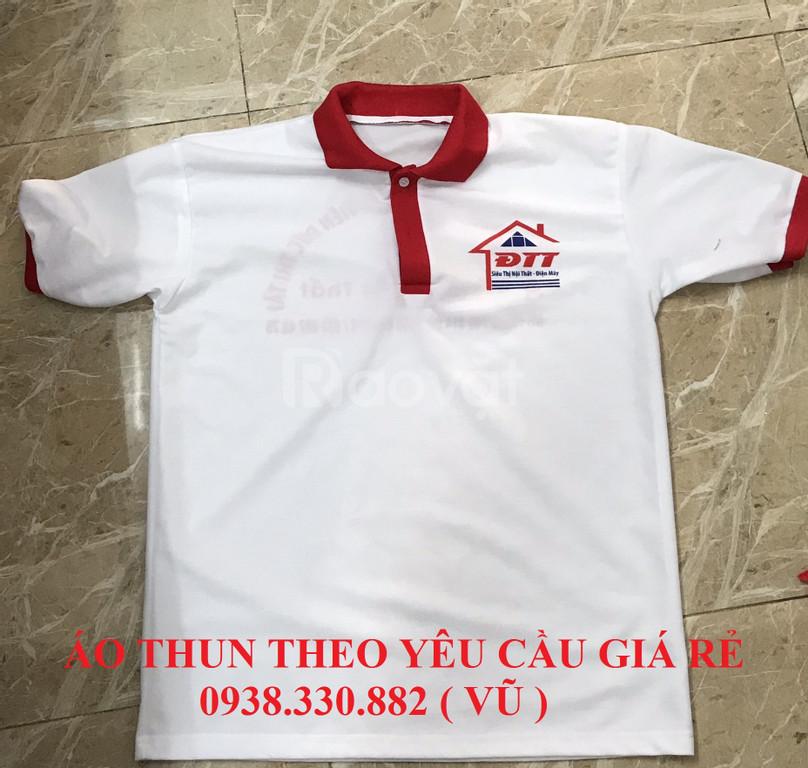 May áo thun quà tặng quảng cáo theo yêu cầu giá rẻ