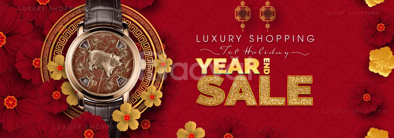 Luxury Shopping - khuyến mãi cho dịp Tết Kỷ Hợi 2019