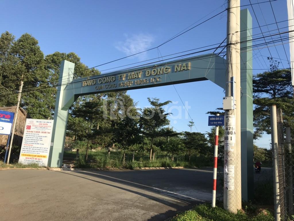 Đất khu công nghiệp Hưng Lộc, chợ, quốc lộ 1a