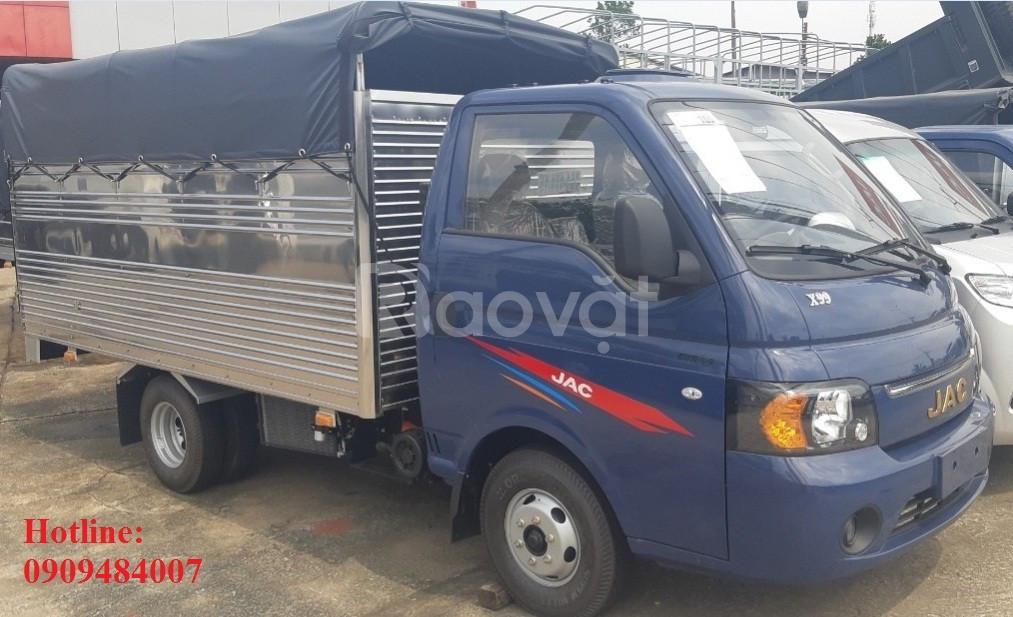 Xe tải dongben 770Kg - 750KG thùng kín