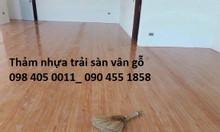 Sàn nhựa lót sàn nhà bền đẹp giá rẻ