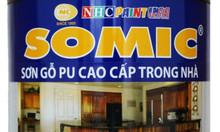 Sơn gỗ Pu Somic 2k