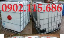 Bồn nhựa 1 khối thùng đựng hóa chất tank nhựa IBC thùng đựng nước