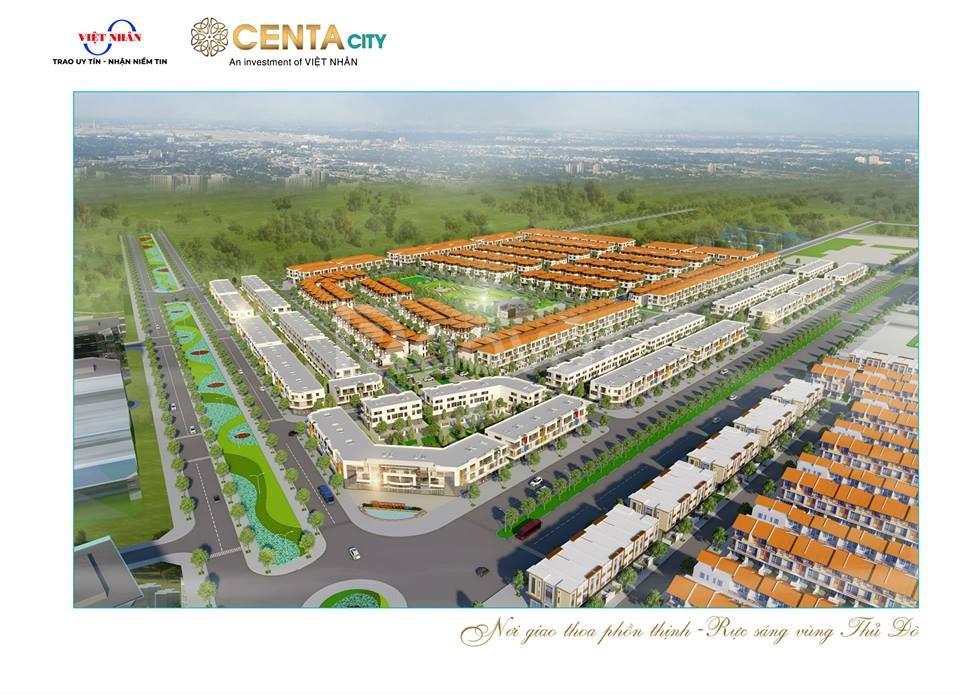 Tặng vàng ròng khi mua Shophouse Centa City