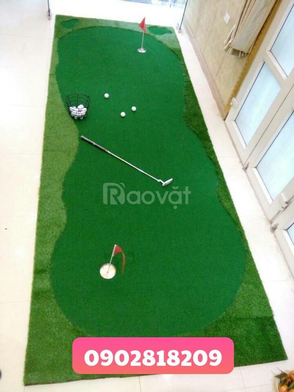 Thiết kế và thi công phòng tập golf và thảm tập golf theo yêu cầu
