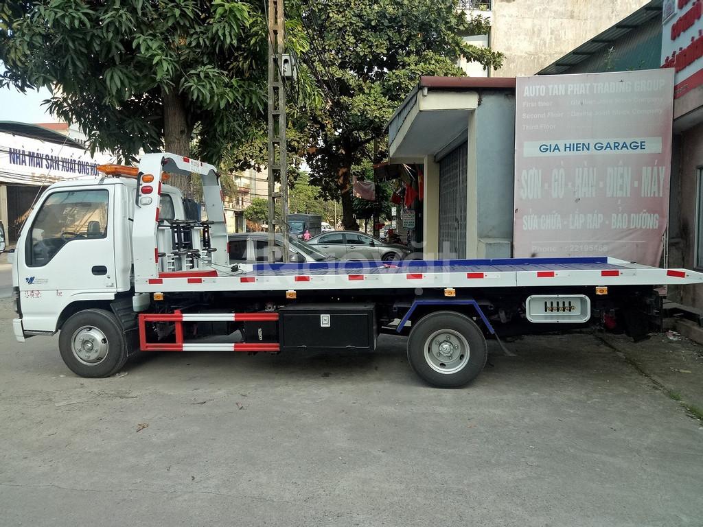 Xe cứu hộ giao thông sàn trượt 2,2 tấn Isuzu