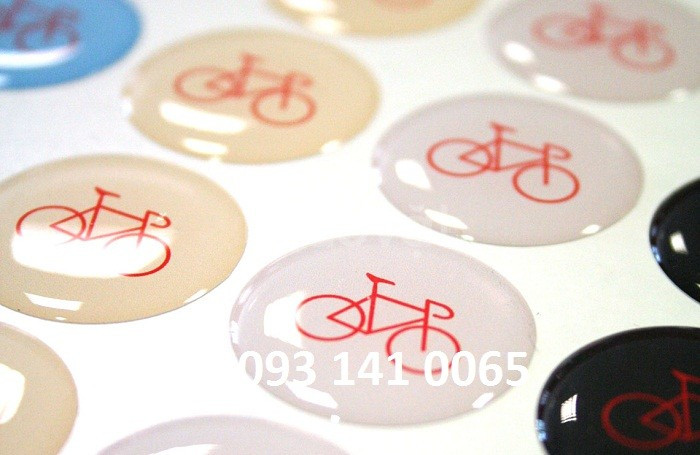 In logo sticker phản quang, decal sữa, decal trong