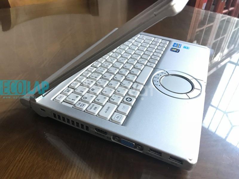 Laptop Panasonic Pin6-8H CPu i5 2.7Gx4cpu 12HD + 1600x900 bền bỉ