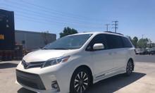Bán Toyota Sienna Limited 3.5 nhập mỹ 2019, màu trắng, xe giao xe ngay