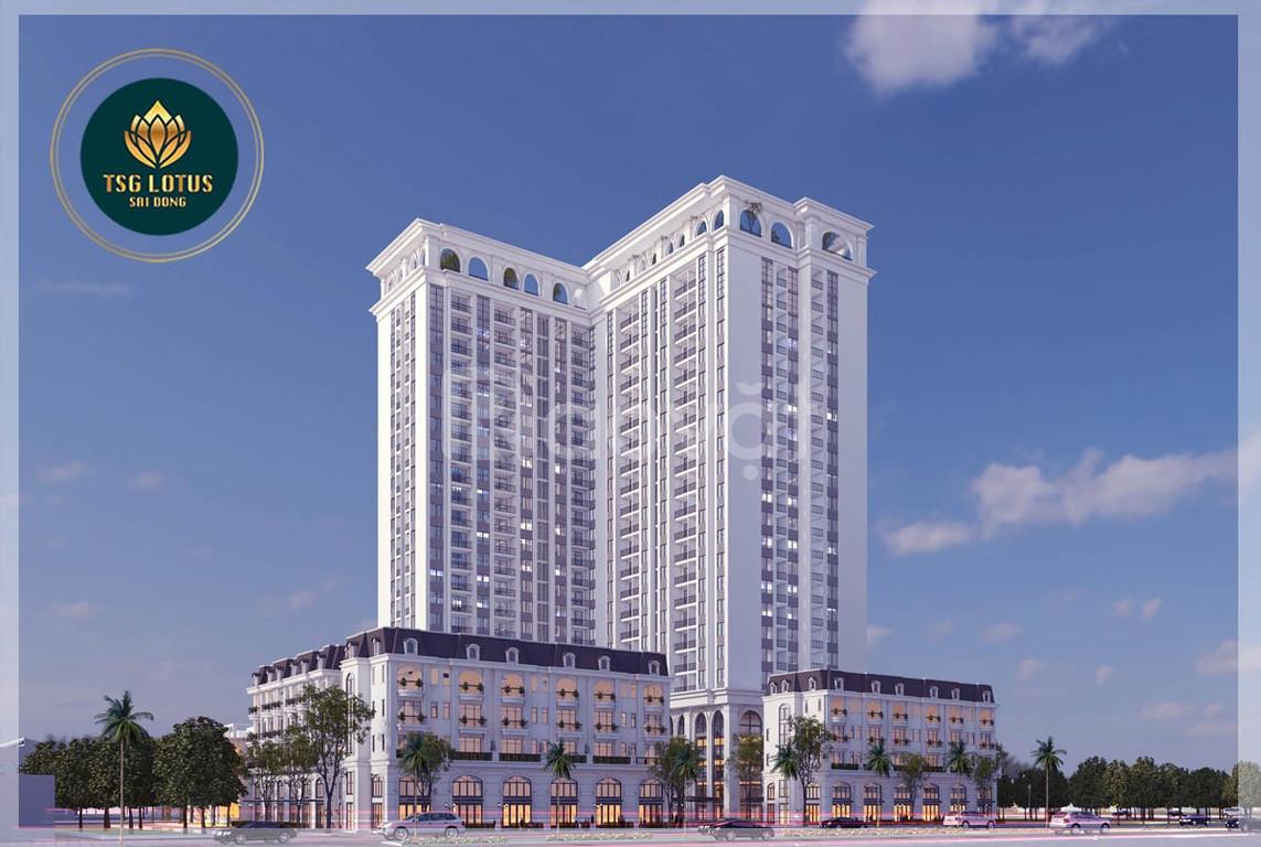 Mở bán đợt đầu chung cư TSG Lotus Sài Đồng - giá ưu đãi