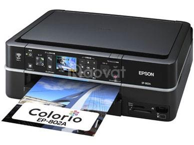 Máy in epson 801A máy in ảnh, máy photo màu, máy in tiện lợi 3 trong 1
