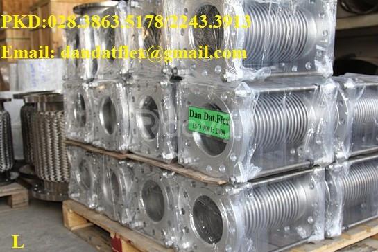Khớp nối mềm inox 316, khớp giãn nở nhiệt inox (bù giãn nở) (ảnh 8)