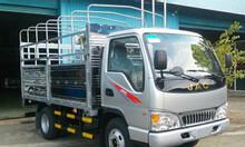 Xe tải jac 1.25 tấn thùng mui bạt