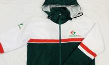 Xưởng may áo khoác gió quà tặng cho nhân viên