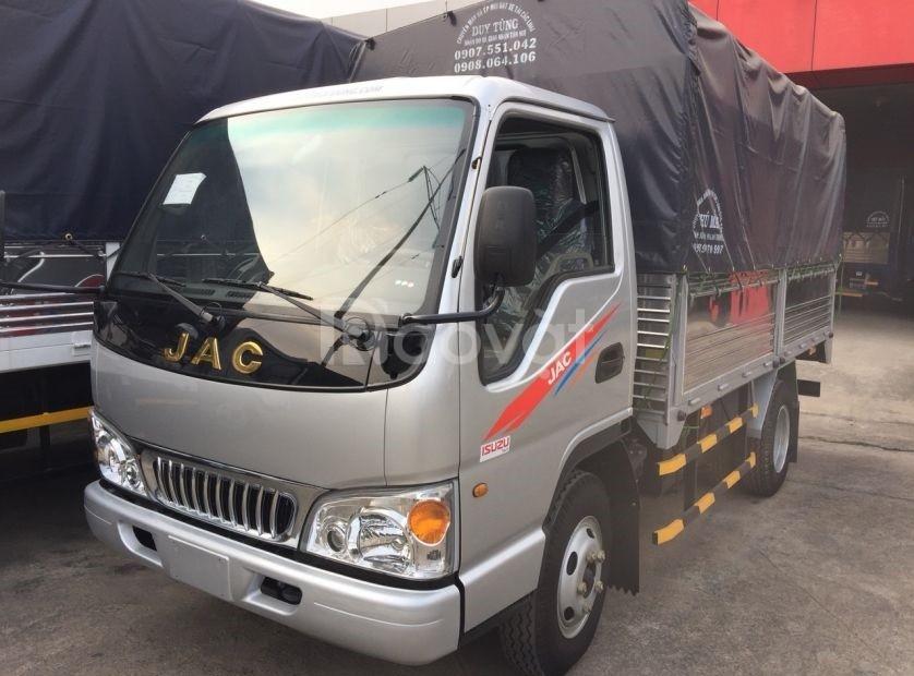 Xe tải jac 2.5 tải  - 2T5 thùng mui bạt