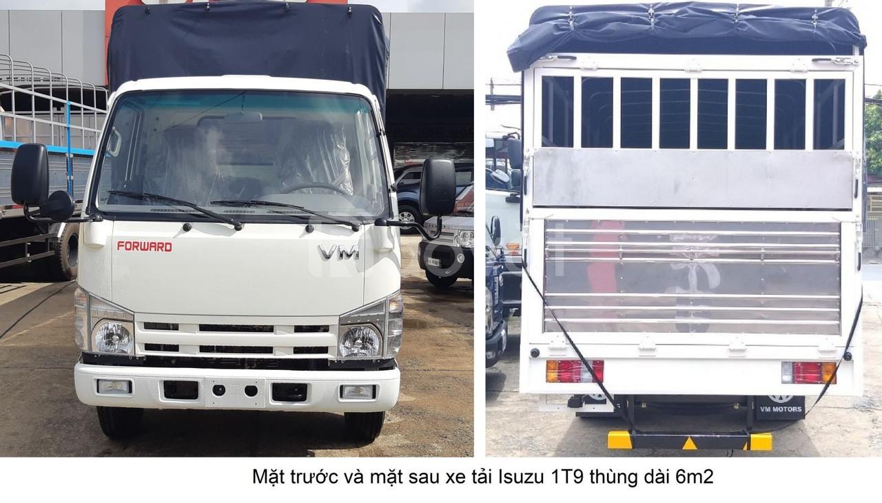 Xe tải isuzu 2t thùng dài 6m2