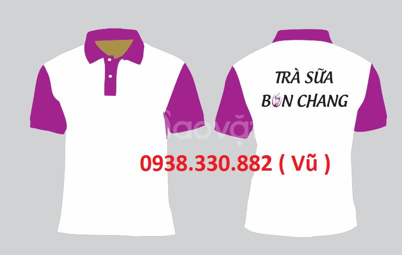 May áo thun đồng phục quảng cáo giá rẻ dịp năm mới