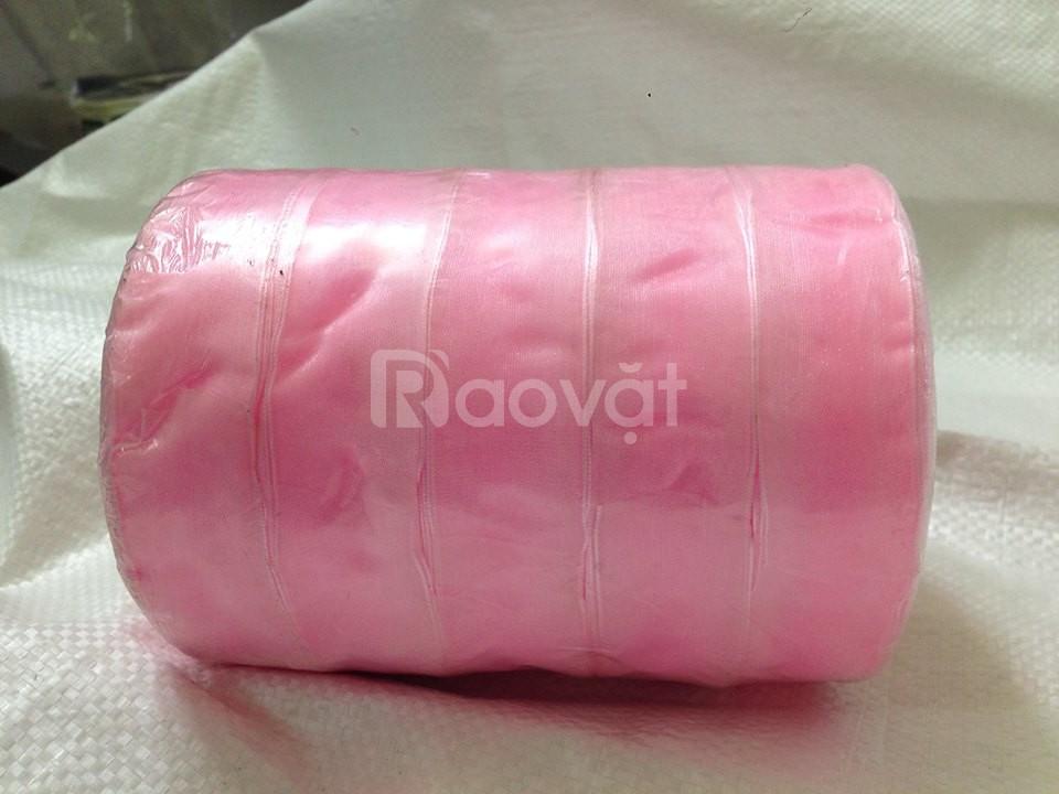 Thanh lý dây ruy băng màu hồng