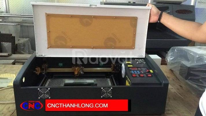 Máy Laser cắt thiệp, khắc dấu cao su giá rẻ Hà Nội