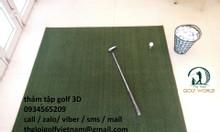 Thảm tập golf 2 lớp