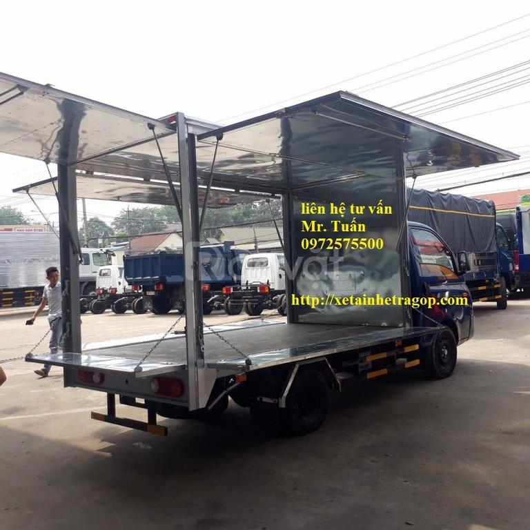 Bán Hyundai H150 thùng bán hàng lưu động