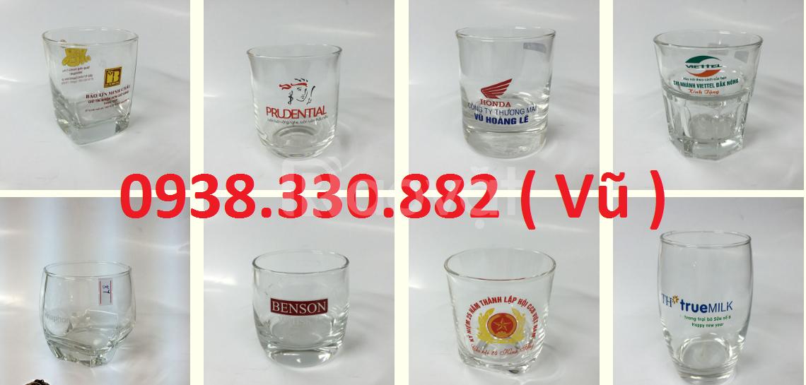 Bộ ly thủy tinh quà tặng quảng cáo cao cấp giá rẻ