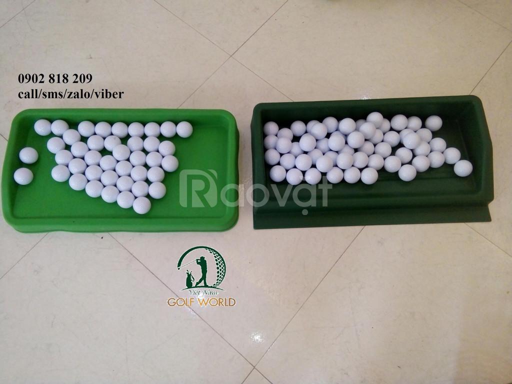 Khay đựng bóng golf nhựa chứa 100 bóng nhập khẩu