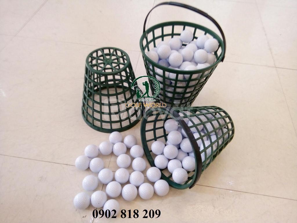 Rổ đựng bóng golf nhựa dẻo chống xước bóng