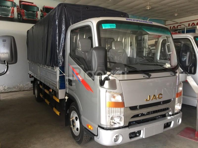 Bán xe tải JAC 1.9 tấn- thùng mui bạt
