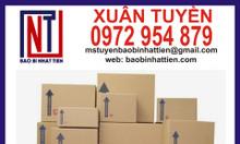 Thùng carton đựng đồ gỗ, hàng may mặc xuất khẩu