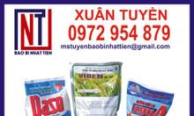 Bao bì đựng chế phẩm sinh học, hóa phẩm