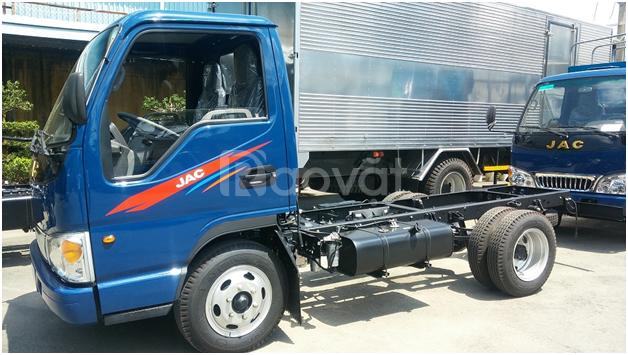 Bán xe tải JAC 1.25 tấn- thùng mui bạt