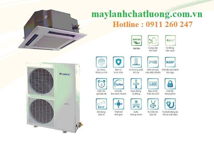 Bán máy lạnh âm trần Gree 5HP KH42K3HI/GUCN42NM3HO giá sỉ
