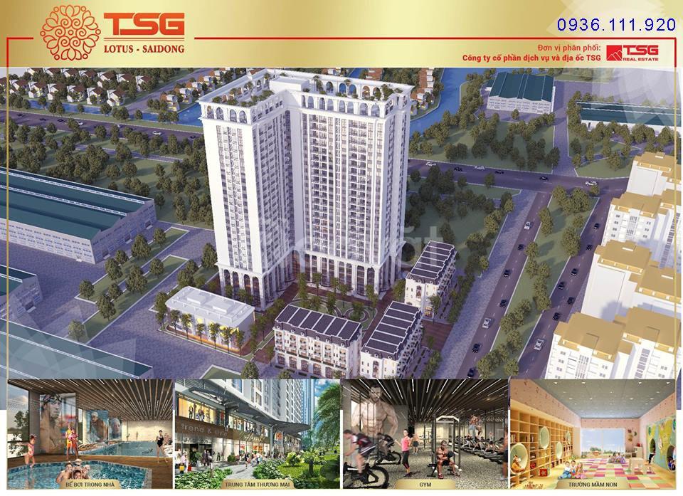 Mở bán dự án chung cư TSG Lotus Sài Đồng - Long Biên - Hà Nội
