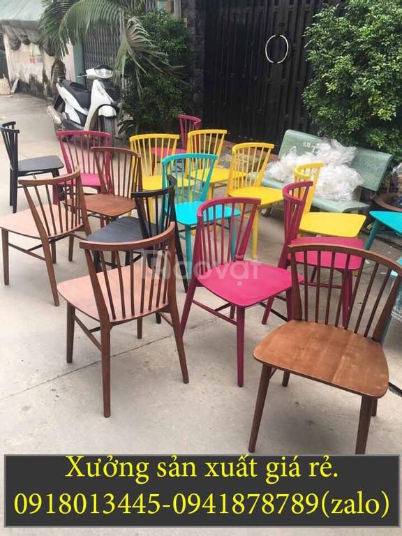 Cần thanh lý gấp 1000 ghế gỗ cafe, ghế ăn giá rẻ trong năm