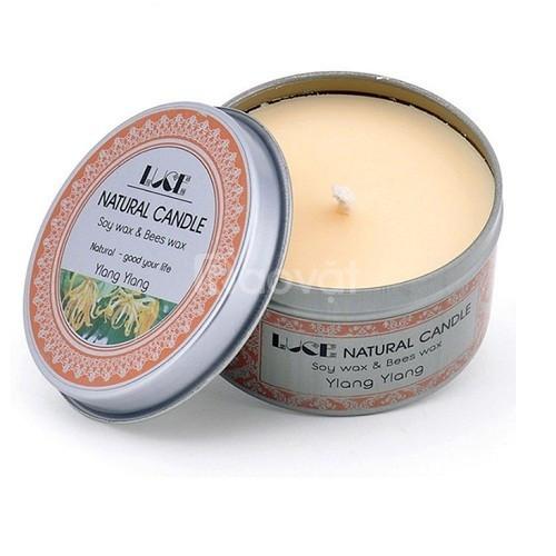 Nến thơm trang trí tinh dầu ngọc lan - Aroma Candles Ylang Tin