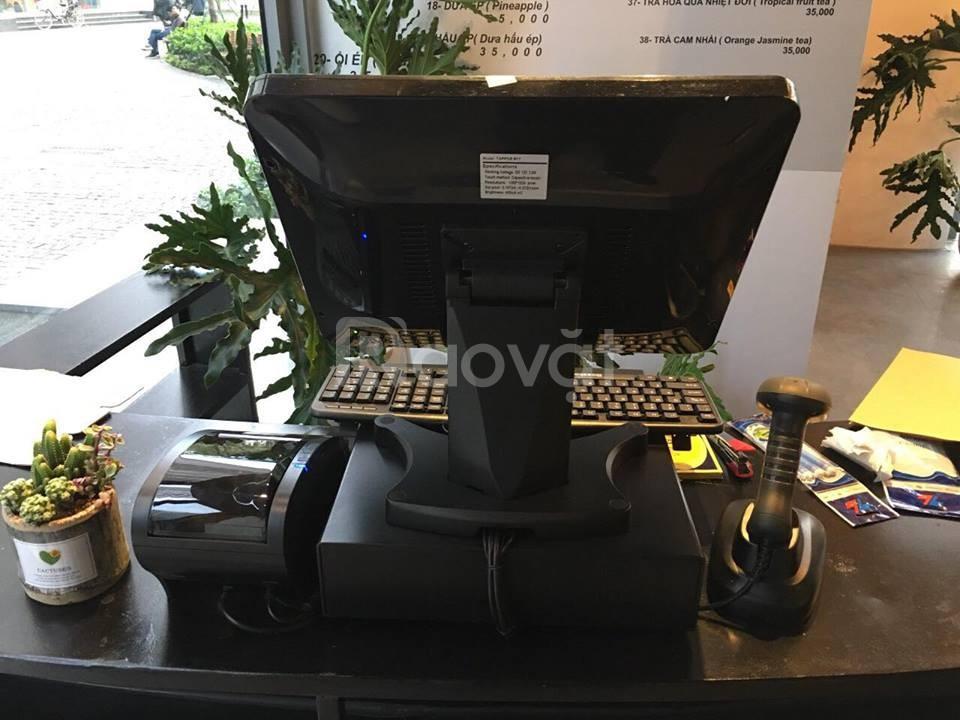 Chuyên lắp đặt máy tính tiền cảm ứng cho quán cafe Shop