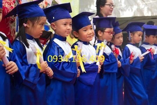 Xưởng may nón tốt nghiệp mầm non giá rẻ