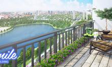 Bán căn 3PN tầng trung view 2 hồ điều hòa tại Smile Building