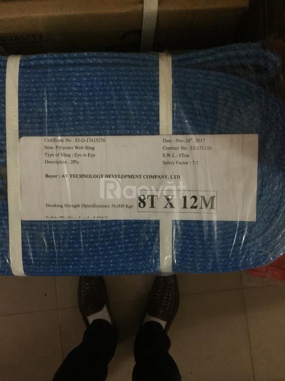Dây cẩu hàng Hàn Quốc (eastern - samwoo) 8 tấn (6,8,10,12 m)