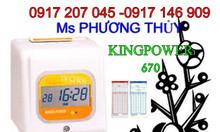 Máy chấm công in búa Kingpower 970 giá rẻ xài bền