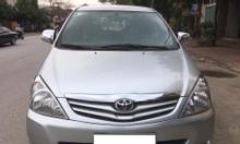 Bán gấp Toyota Innova 2009 bản G xịn màu bạc