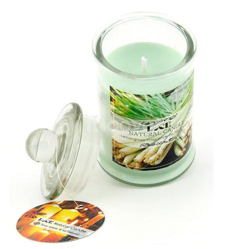 Nến thơm đuổi muỗi tinh dầu sả chanh - Aroma Candles Lemongrass Jar