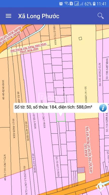 Bán đất gần sân bay Long Thành, sổ đỏ, khu DC hiện hữu, đất ở NT