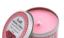Nến thơm sáp ong tinh dầu hoa hồng - Aroma Candles Rose Tin