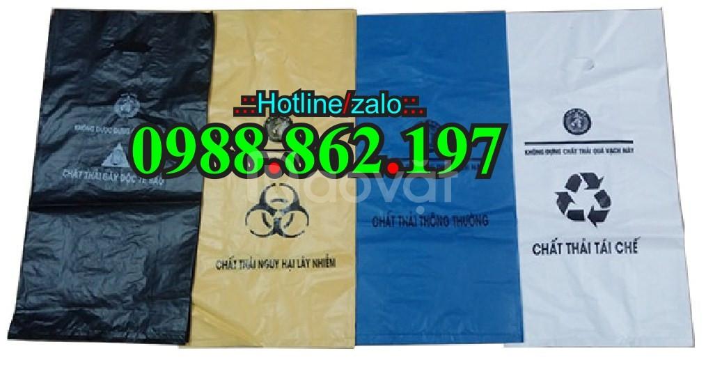 Túi đựng rác thải y tế, túi rác y tế, túi rác, túi rác y tế giá rẻ