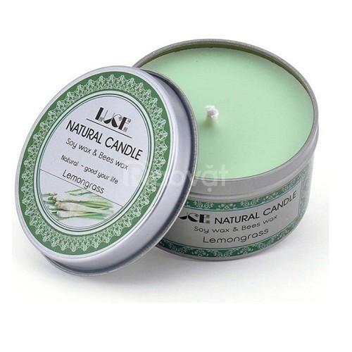 Nến thơm thiên nhiên tinh dầu sả chanh - Aroma Candles Lemongrass